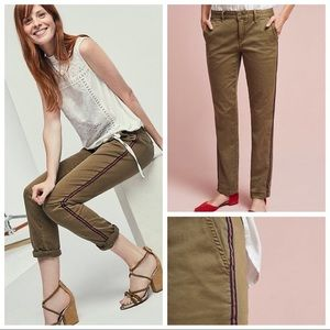Anthropologie Chino Relaxed Fit Pants